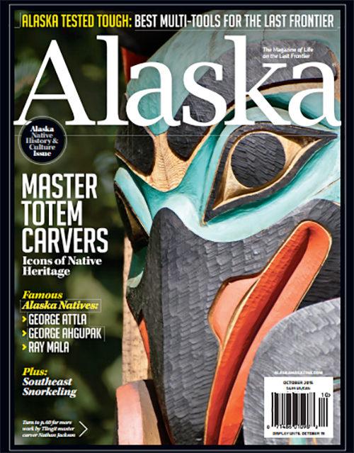 Alaska Magazine   The Right Mask